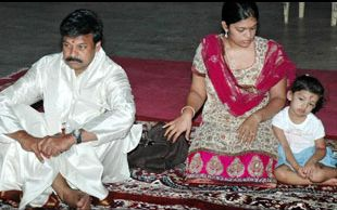 Grand Daughter Nivruthi is Chiranjeevi's latest fan
