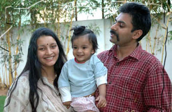 We did not split : says Renu Desai