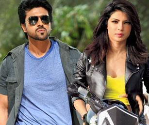 Ram Charan with Priyanka Chopra
