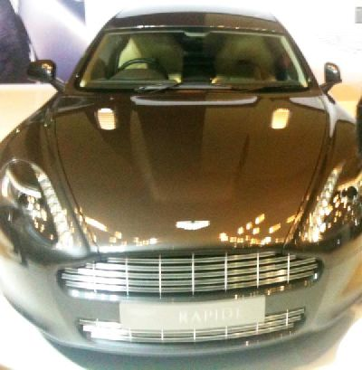 Ashton Martin V8 Vantage car gift to Ram Charan for marriage