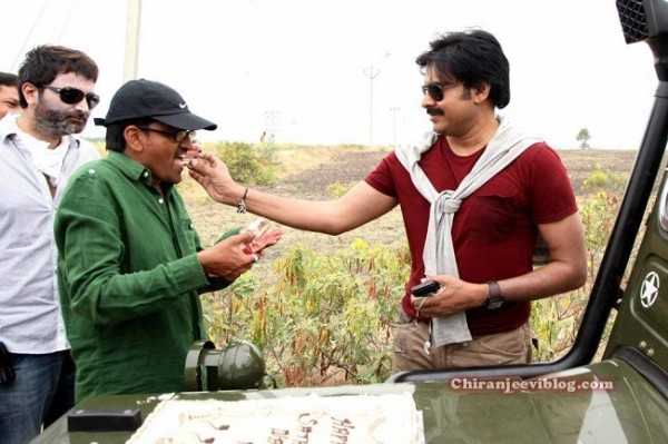 Pawan kalyan trivikram New Movie Working Still