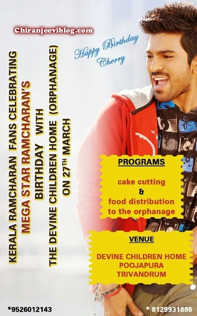 Ram Charan birthday celebrations and socila activities03