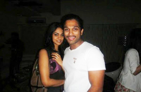 Allu arjun sneha reddy age difference in dating