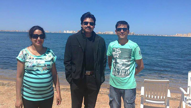 Pawan Kalyan At Spain  Exclusive Photos (1)