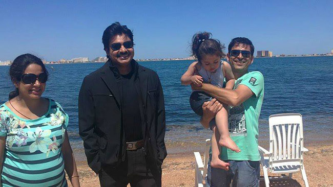 Pawan Kalyan At Spain  Exclusive Photos (2)
