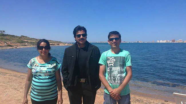 Pawan Kalyan At Spain  Exclusive Photos (3)