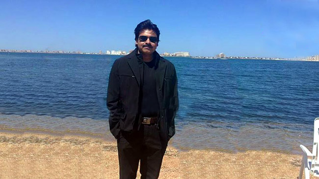 Pawan Kalyan At Spain  Exclusive Photos