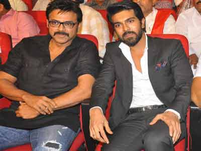 Ram Charan,Venkatesh Multistarer movie confirmed by Bandla Ganesh